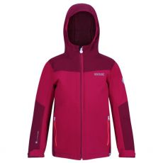 Regatta Kids Highton Cerise Beetroot Jacket