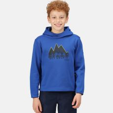 Regatta Kids' Highton Extol Printed Hoodie Blue