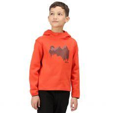Regatta Kids' Highton Extol Printed Hoodie Orange