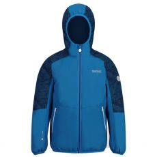 Regatta Kids Volcanics Blue Waterproof Jacket  front