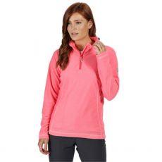 Regatta Montes Half Zip Ladies Pink Fleece