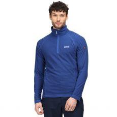 Regatta Men's Montes Half Zip Blue Fleece
