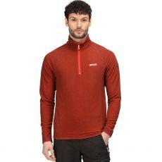 Regatta Men's Montes Half Zip Rust Fleece