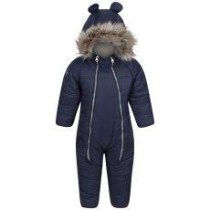 Regatta Kids' Panya Insulated Snowsuit Navy