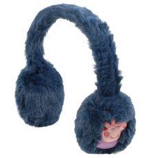 Regatta Peppa Pig Fluffy Ear Muffs Navy