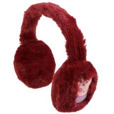 Peppa Pig Fluffy Ear Muffs Raspberry