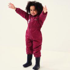 Regatta Peppa Pig Waterproof Puddle Suit Raspberry Unicorn