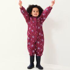 Regatta Peppa Pig Pobble Waterproof Puddle Suit Raspberry