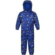 Regatta Peppa Pig Pobble Waterproof Puddle Suit Blue