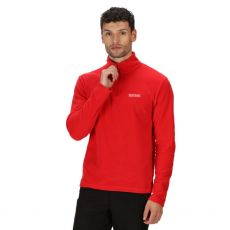 Regatta Thompson Gents Half Zip Red Fleece