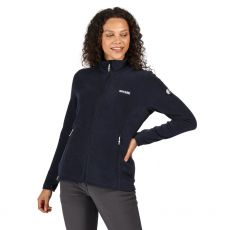 Regatta Women's Floreo III Navy Fleece on model