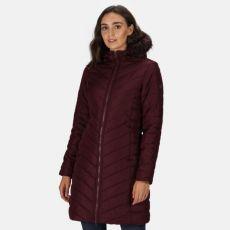 Regatta Fritha Ladies Quilted Burgundy Jacket