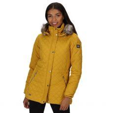Regatta Zella Ladies Mustard Quilted Jacket