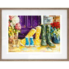 Róisín O' Farrell Rain Coats & Sunshine Small Frame
