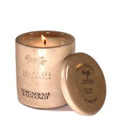 Rowan Beg Lemongrass & Coconut Large Candle