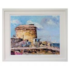 Ruth Maloney Chinwag Martello Tower Seapoint 21x17
