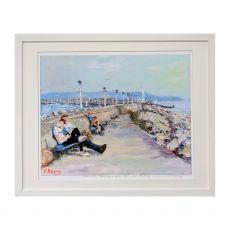 Ruth Maloney Parenting From 99s to Social Media Dun Laoghaire Pier 21x17
