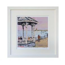 Ruth Moloney Peering out to Sea Dun Laoghaire Pier 13x11