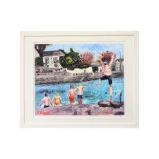 Ruth Maloney Taking the Plunge Sandycove 21x17