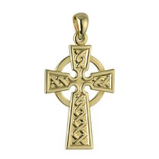 Solvar 9K 21Mm Celtic Cross Pendant