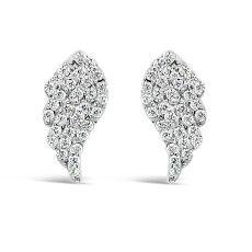 Absolute Silver Angel Wing Earrings
