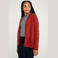Seasalt Breakers Dark Cinnamon Cardigan