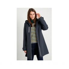 Seasalt Coverack Midnight Blue Coat