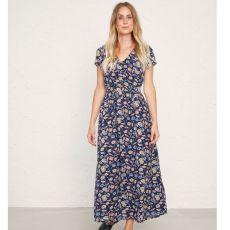 Seasalt Feather Slate Ceramic Blooms Dress
