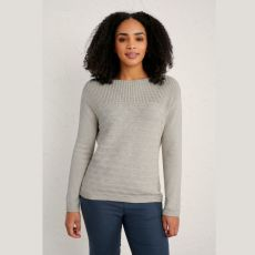 Seasalt Harbour Beach Ecru Jumper