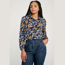 Seasalt Larissa Painted Flower Waterline Shirt