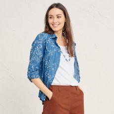 Seasalt Larissa Cornish Blue Shirt