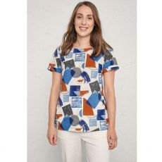Seasalt Pebble Art Top Harbour Shapes Sailor