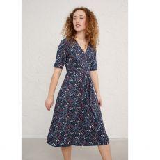 Seasalt Quinn Dress Winifred's Border Waterline model side
