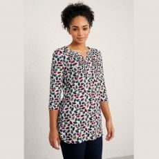 Seasalt Tolcarne Threaded Leaves Eden Tunic
