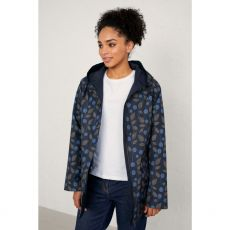 Seasalt Berry Sprigs Midnight Reversible Raincoat