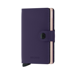Secrid Matte Purple Mini Wallet