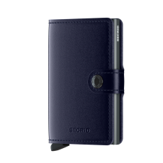 Secrid Metallic Blue Mini Wallet