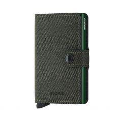 Secrid Twist Green Gents Mini Wallet