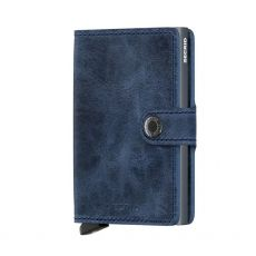 Secrid Vintage Blue Gents Mini Wallet
