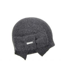 Seeberger Grey Bow Hat