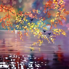 Sharon McDaid Birds & Autumn Birch Mount