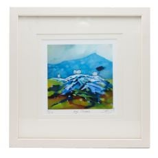 Sharon McDaid High Climbers 18 x 18 Frame