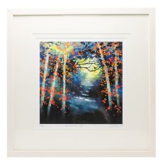 Sharon McDaid Into The Light 18 x 18 Frame
