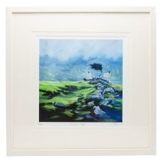 Sharon McDaid Mountain Mist 12 x 12 Frame
