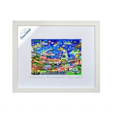 Simone Walsh 'A Day Out in Dun Laoghaire' Large Frame