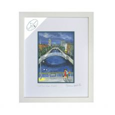 Simone Walsh 'Last Bus Home' Large Frame