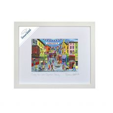 Simone Walsh 'Loving The Latin Quarter Galway' Medium Frame