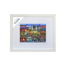 Simone Walsh 'Party Time in Temple Bar' Medium Frame