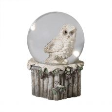 Small Owl Snow Globe