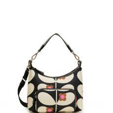 Orla Kiely Small Shoulder Bag Wild Rose Stem